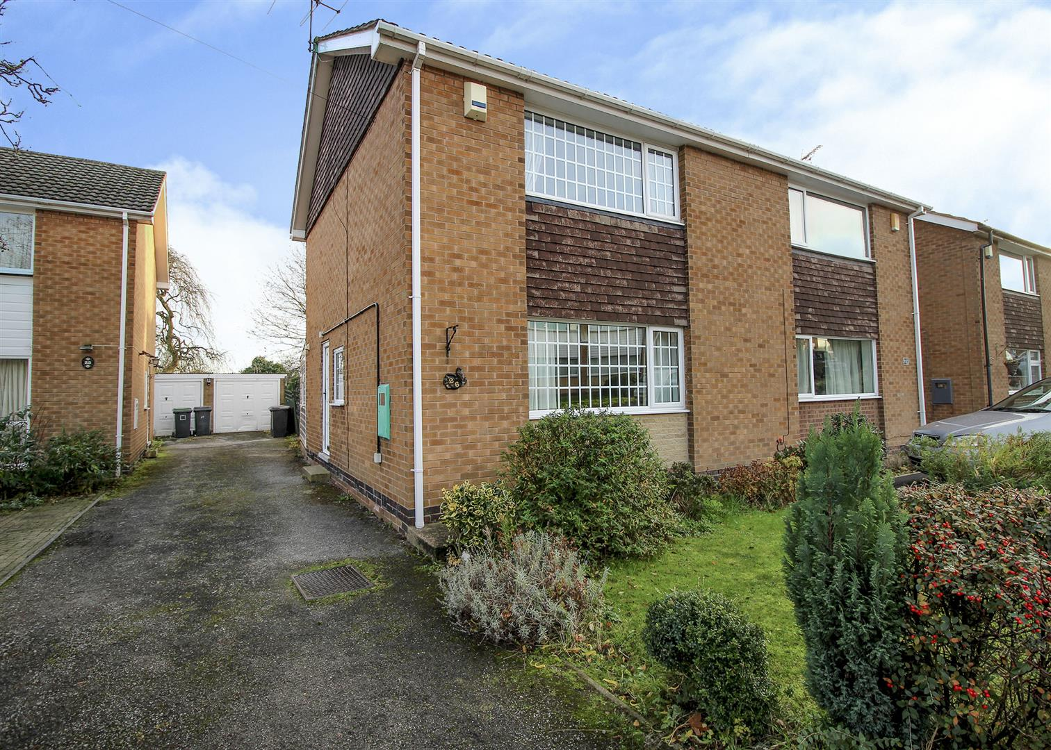 3 Bedrooms Semi Detached House for sale in Brisbane Drive, Stapleford